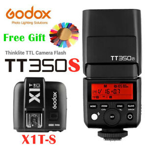 Godox Mini TT350S 2.4G TTL Flash Light Speedlite X1T-S Trigger For Sony Camera