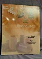NEW Artista Bernina/Oklahoma Embroidery Designs Memory Card # A1002 Birdhouses