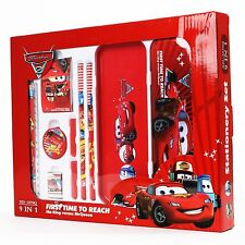 Disney Cars Stationery Set School Educational Birthday Party Kids Gift