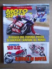 MOTOSPRINT n°38  1992     [Q21]  TEST HUSQVARNA TE 350 TE 610