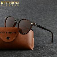 KEITHION Fashion TR-90 Polarized Womens Sunglasses Round Driving Outdoor Eyewear