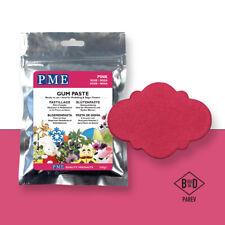 PME Cake Icing Sugar Modelling Sugarpaste Gum Paste Decoration Pink200g (7oz)