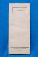 Bombay - General Information - Brochure - 18 pages - 5/64