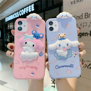 3D Cute Cartoon Soft Silicone Case Cover For iPhone 12 11 Pro Max XS XR 7 8 Plus
