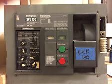 Westinghouse Pow-R-Breaker Spb 100 600 Amp 500 Trip Lsig Air Circuit Breaker