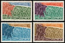 ✔  SOUTH VIETNAM 1959 - INDEPENDENCE - MI#192/195 SC#120/123 ** MNH OG [VN192]