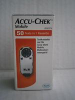 Kassette Accu-Check-Mobile Control Kassette 50 Tests von Roche (original) Neu!