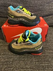 Nike Air Max 95 TD Toddler Outdoor Green-Cyber sz 2c [CI9945-300]