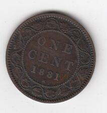 1881 H Canada large cent  Nice Grade