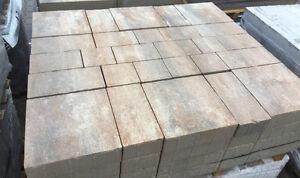 Pflastersteine f. Terrasse Auffahrt | Muschelkalk | Mehrformat Beton ☝Befahrbar☝