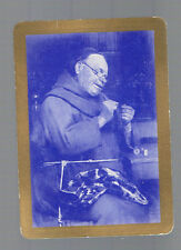 Swap Playing Cards 1 VINT WIDE GENUINE  U.S   THE BUSY MONK!   U.S25