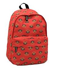 PAUL FRANK - JULIUS MONKEY MULTI FACE SCHOOL BACKPACK - CORAL