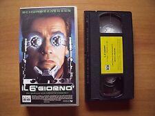VHS - IL 6° GIORNO - con ARNOLD SCWARZENEGGER - ANNO 2000