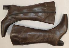 Gabor !!  Damen Leder- Stiefel Gr. 40,5 UK 7 //  braun