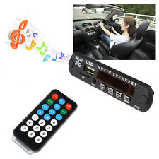 Car Remote Music Speaker USB MP3 Decoder Decoding Board Wireless Audio Module