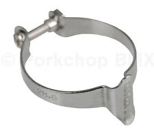 "Dia-Compe Bicycle Brake Cable Frame Clip Clamp Holder 28.6mm (1 1/8"") CHROME"