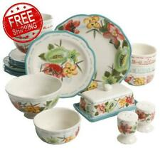 The Pioneer Woman Vintage Floral Dinnerware Service 4 +Serve Set 20-Piece New