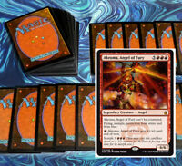 mtg RED HEROIC DECK Magic the Gathering rares 60 cards akroma hellrider