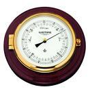 Wempe CW400002 Globaltec Skipper Brass/Mahogany Barometer 210 X 50mm W/B