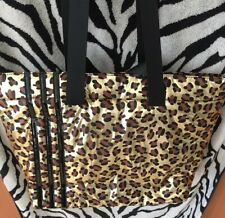 Gold Leopard Womans Tote Full Zipper NEW Handbag Great For Travel Gym Work Play