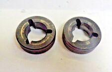 """Wire Feed Welder Drive Rolls .045 ,2 Threaded Outside,Id:7/8"""" ,O.D.:1 5/8"""" Lot/2"""