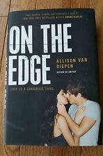 On the Edge Allison van Diepen 2014 Hardcover First Edition Young Adult Romance