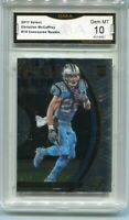2017 Christian McCaffrey Select Concourse Rookie Gem Mint 10 #74