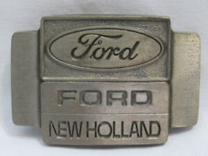 Original Adult FORD NEW HOLLAND Collector BELT BUCKLE New Old Stock