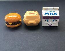 McDonalds Transformers Quarter Pounder Carton Quarter Pounder Milk Transformers