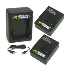 Wasabi Power Dual USB Charger and 2 Li-Poly Batteries Kit (KIT-BB-AHDBT302)