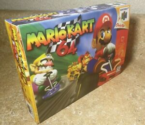 Mario Kart 64 HAND MADE REPLACEMENT BOX Nintendo N64