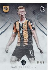 2016 Premier Gold Silver Parallel #67 Sam Clucas Hull City 38/99