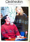 Cleckheaton Knitting Pattern Pamphlet 285 - JUMPER & CARDIGAN IN 8 PLY 2 Designs