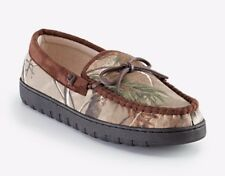 Men's Nylon Realtree Xtra Camo Print, Moccasin Slipper - Size 7/8........NIB