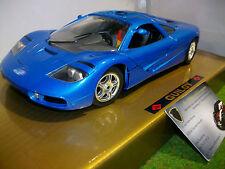 McLAREN F1 route bleu à l'échelle 1/18 GUILOY 675033  voiture miniature