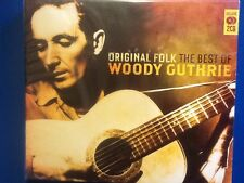 WOODY.  GUTHRIE.     TWO. DISCS.      ORIGINAL   FOLK.     THE. BEST. OF