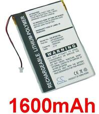 Battery 1600mAh type P325385A4H for Apple iPod 2nd generation (16GB)