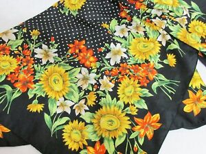 Kathie Lee Collection Scarf 35 Inch Square Spring Flowers