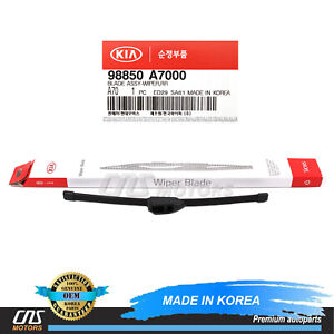 GENUINE REAR WIPER BLADE for 2013-2018 KIA FORTE5 OEM 98850A7000