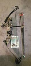 Pse Spyder Youth/Ladies Compound Bow -3arrows- whisker biscuit