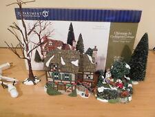 Dept 56 Dickens Village - Christmas At Codington Cottage - Animated See-Saw -MIB