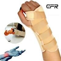 Medical Wrist Brace Support Strap Thumb Carpal Tunnel Arthritis Sprain Joint OBS