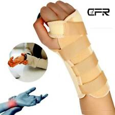 Medical Wrist Brace Support Strap Thumb Carpal Tunnel Arthritis Sprain Joint OBS