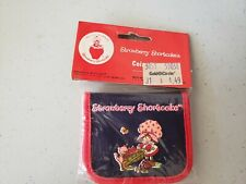 Vintage Strawberry Shortcake Coin Purse. Brand New! Dated 1980.