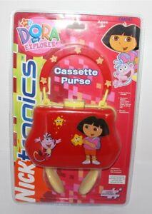 Dora The Explorer Cassette Purse New 2006 Viacom International Inc. Nick Jr 8+