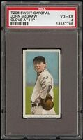 1909-11 T206 HOF John McGraw Glove at Hip Sweet Caporal 350-460 PSA 4 VG - EX