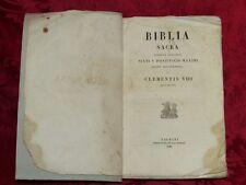 Bibbia Sacra Volgata Sixti V Pontificis Maximi Jussu Recognita et Clementis VIII