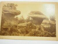 "Garden of the Gods cabinet card Photo C.L.Gillingham Colo.circa 1880's 5"" x 8"""