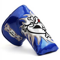 1Xblade magnetic putter cover golf skull putter headcover for Odyssey Ping Cobra