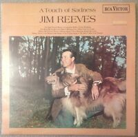 JIM REEVES - A Touch of Sadness - 1968 Vinyl LP - RCA Victor - SF-7978